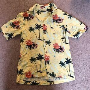 Men's Hawaiian button down